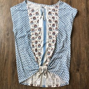 Lucky Brand Tops - NWT Lucky Brand Print Top in sz M